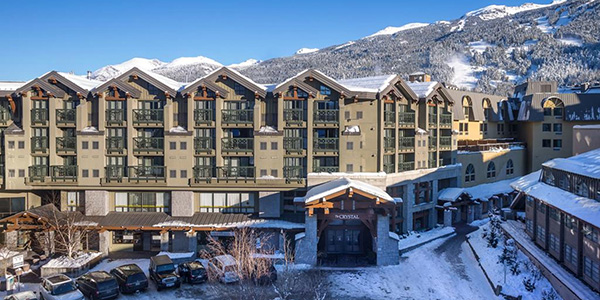 The Crystal Lodge and Suites, Whistler, BC Канада